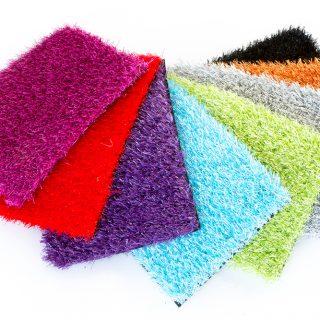 Rainbow Artificial Grass