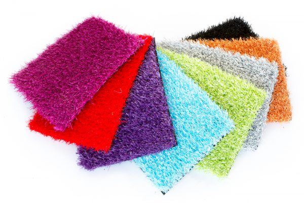 Lincslawns Rainbow colours premium artificial grass